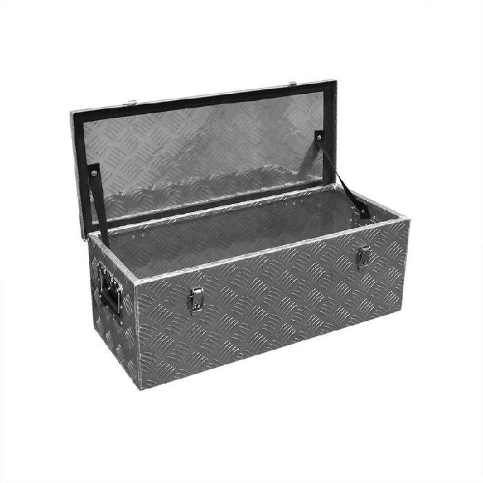 heckbox alubox staukasten werkzeugbox 760 x 320 x h270mm. Black Bedroom Furniture Sets. Home Design Ideas