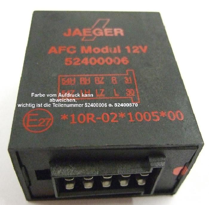 Blinküberwachung AFC- Modul- Ersatz