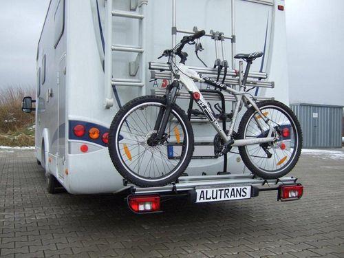 fahrradtr ger 2 fahrr der luftfederung am wohnmobil. Black Bedroom Furniture Sets. Home Design Ideas